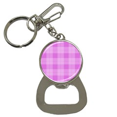 Seamless Tartan Pattern Button Necklaces