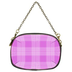 Seamless Tartan Pattern Chain Purses (two Sides)  by BangZart