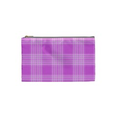 Seamless Tartan Pattern Cosmetic Bag (small)