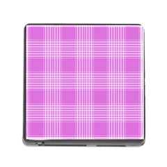Seamless Tartan Pattern Memory Card Reader (square) by BangZart