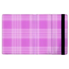 Seamless Tartan Pattern Apple Ipad 2 Flip Case