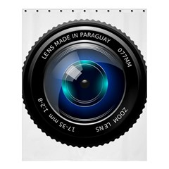Camera Lens Prime Photography Shower Curtain 60  X 72  (medium)  by BangZart