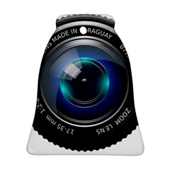 Camera Lens Prime Photography Bell Ornament (two Sides)