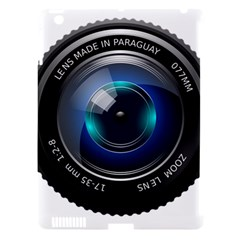 Camera Lens Prime Photography Apple Ipad 3/4 Hardshell Case (compatible With Smart Cover)