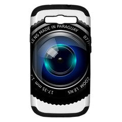 Camera Lens Prime Photography Samsung Galaxy S Iii Hardshell Case (pc+silicone) by BangZart