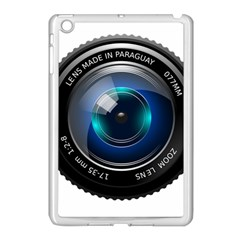 Camera Lens Prime Photography Apple Ipad Mini Case (white) by BangZart