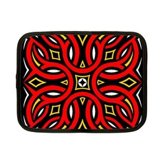 Traditional Art Pattern Netbook Case (small)  by BangZart