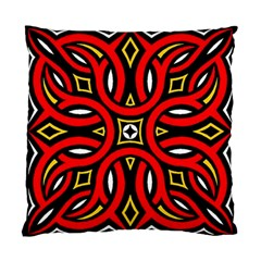 Traditional Art Pattern Standard Cushion Case (one Side)