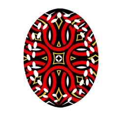 Traditional Art Pattern Ornament (oval Filigree)