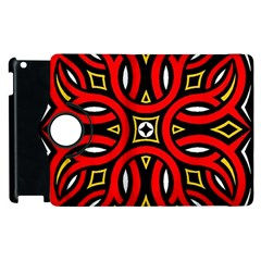 Traditional Art Pattern Apple Ipad 2 Flip 360 Case by BangZart