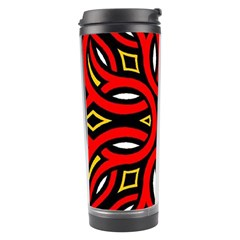 Traditional Art Pattern Travel Tumbler by BangZart