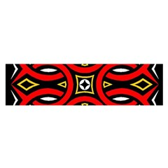 Traditional Art Pattern Satin Scarf (oblong)