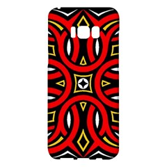 Traditional Art Pattern Samsung Galaxy S8 Plus Hardshell Case