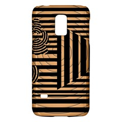 Wooden Pause Play Paws Abstract Oparton Line Roulette Spin Galaxy S5 Mini by BangZart
