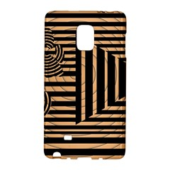 Wooden Pause Play Paws Abstract Oparton Line Roulette Spin Galaxy Note Edge by BangZart