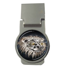Lion Robot Money Clips (round)  by BangZart