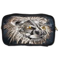Lion Robot Toiletries Bags 2 Side