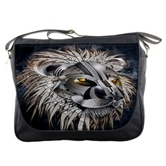 Lion Robot Messenger Bags
