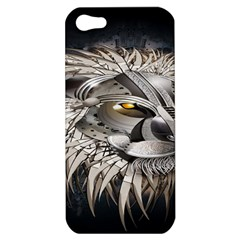 Lion Robot Apple Iphone 5 Hardshell Case
