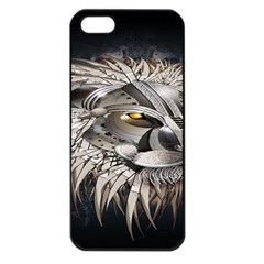 Lion Robot Apple Iphone 5 Seamless Case (black)