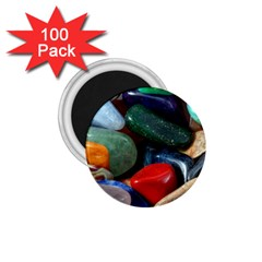 Stones Colors Pattern Pebbles Macro Rocks 1 75  Magnets (100 Pack)  by BangZart