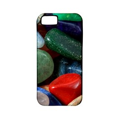 Stones Colors Pattern Pebbles Macro Rocks Apple Iphone 5 Classic Hardshell Case (pc+silicone)