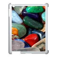 Stones Colors Pattern Pebbles Macro Rocks Apple Ipad 3/4 Case (white) by BangZart