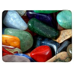 Stones Colors Pattern Pebbles Macro Rocks Samsung Galaxy Tab 7  P1000 Flip Case by BangZart