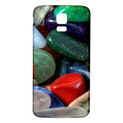 Stones Colors Pattern Pebbles Macro Rocks Samsung Galaxy S5 Back Case (white) by BangZart