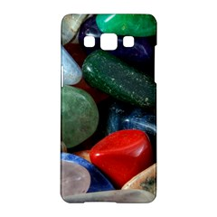 Stones Colors Pattern Pebbles Macro Rocks Samsung Galaxy A5 Hardshell Case  by BangZart