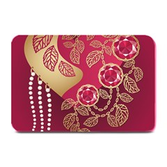 Love Heart Plate Mats by BangZart