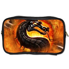 Dragon And Fire Toiletries Bags 2 Side
