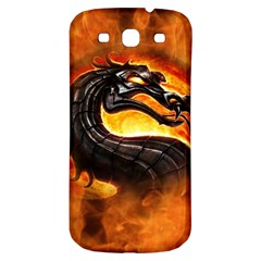 Dragon And Fire Samsung Galaxy S3 S Iii Classic Hardshell Back Case