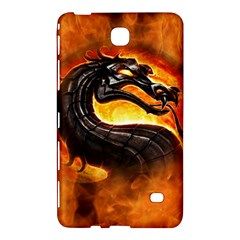 Dragon And Fire Samsung Galaxy Tab 4 (7 ) Hardshell Case
