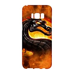 Dragon And Fire Samsung Galaxy S8 Hardshell Case  by BangZart