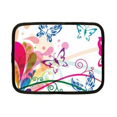 Butterfly Vector Art Netbook Case (small)  by BangZart