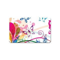 Butterfly Vector Art Magnet (name Card)