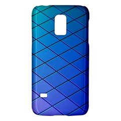 Blue Pattern Plain Cartoon Galaxy S5 Mini