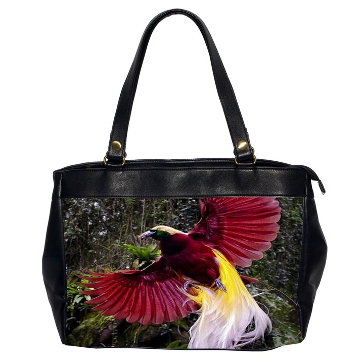 Cendrawasih Beautiful Bird Of Paradise Office Handbags (2 Sides)