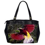 Cendrawasih Beautiful Bird Of Paradise Office Handbags (2 Sides)  Back