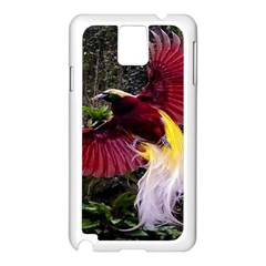 Cendrawasih Beautiful Bird Of Paradise Samsung Galaxy Note 3 N9005 Case (white)