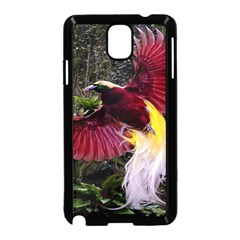 Cendrawasih Beautiful Bird Of Paradise Samsung Galaxy Note 3 Neo Hardshell Case (black)