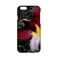 Cendrawasih Beautiful Bird Of Paradise Apple Iphone 6/6s Hardshell Case by BangZart