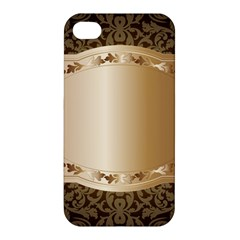 Floral 3 Apple Iphone 4/4s Hardshell Case