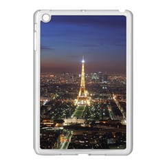 Paris At Night Apple Ipad Mini Case (white)