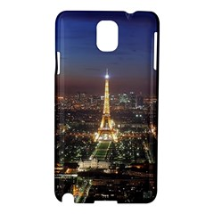 Paris At Night Samsung Galaxy Note 3 N9005 Hardshell Case