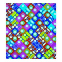 Pattern Factory 32b Shower Curtain 66  X 72  (large)  by MoreColorsinLife
