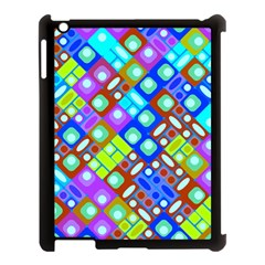 Pattern Factory 32b Apple Ipad 3/4 Case (black) by MoreColorsinLife