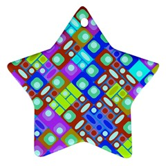 Pattern Factory 32b Ornament (star) by MoreColorsinLife