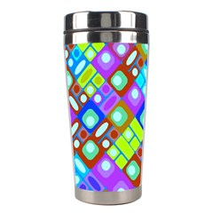 Pattern Factory 32b Stainless Steel Travel Tumblers by MoreColorsinLife